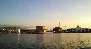 Cebu City Skyline near Port 1