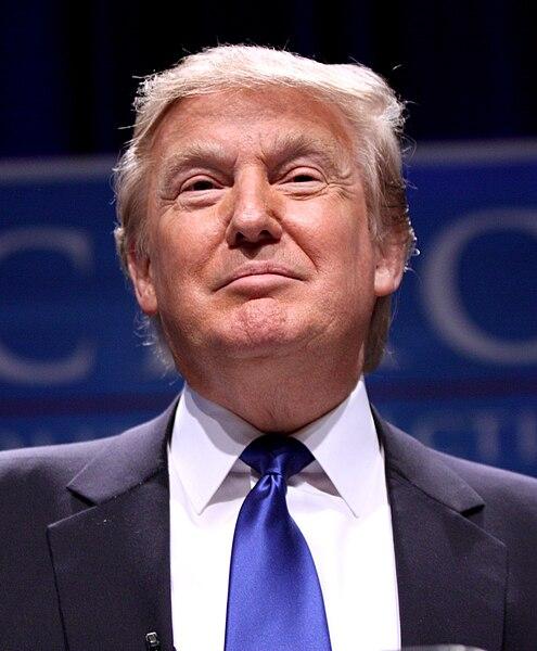 Donald Trump SOURCE:  Wikimedia