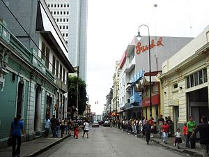 Downtown of San José, Costa Rica