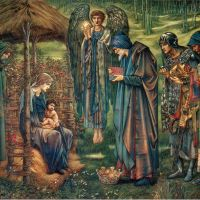"""The Star of Bethlehem"" by Edward Burne-Jones"