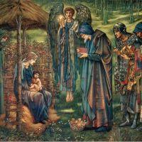 """The Star of Bethlehem"" by Edward Burne-Jones"