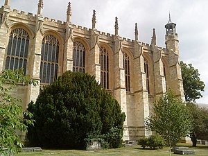 English: Eton College Chapel, near to Eton, Wi...