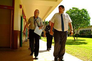 English: Kailua, Hawaii, October 27, 2006 - Vi...