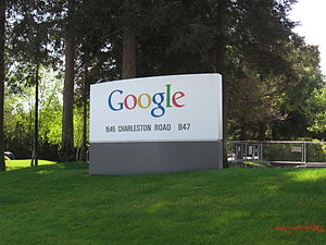 This is one of the huge welcoming signs for Go...