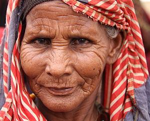 Habiba Adan Salat, a Somali woman in Dolow, on...