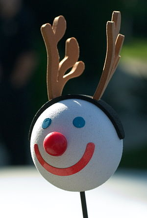 Jack in the Box Holiday antenna ball