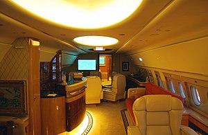 Doctor Vijay Mallya's personal aircraft.