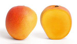 Mango and its cross section