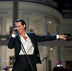 """Singer Marc Anthony performs at the """"In P..."""