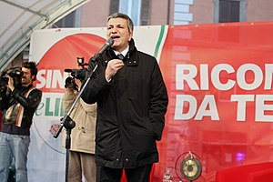 Nichi Vendola, Presidente della Puglia ed espo...