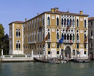 English: The Palazzo Cavalli-Franchetti in Ven...