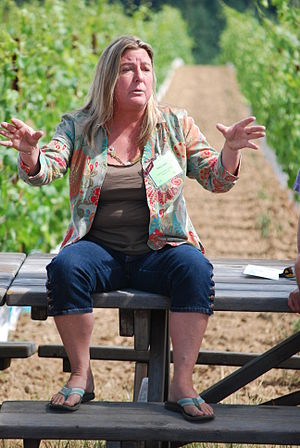 Winemaker Patty Green of Patricia Green Cellar...