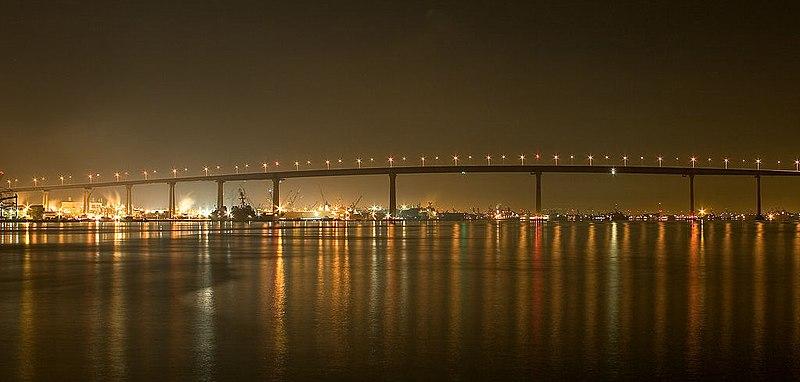 San Diego Coronado bridge