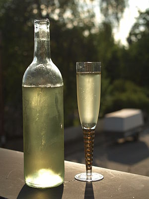 Swedish Mead being enjoyed at Midsummer's Eve.