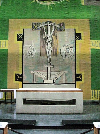 The High Altar - Coventry Cathedral.