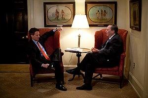 English: Treasury Secretary Timothy Geithner t...