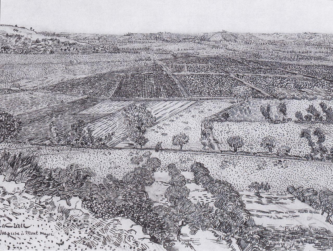 FileVan Gogh Die Ebene La Crau Bei Arles Von