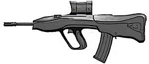English: Vektor CR-21 Assault Rifle