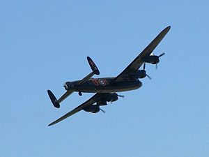 Avro Lancaster of the Battle of Britain Memori...