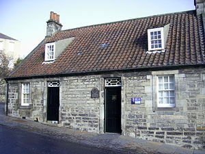 Andrew Carnegie's birthplace, 4 Moodie Street,...
