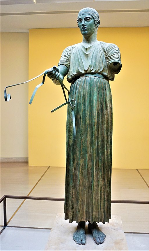 Charioteer of Delphi - Delphi Archaeological Museum by Joy of Museums