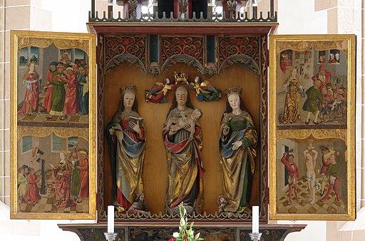 Chemnitz-Schlosskir-Altar