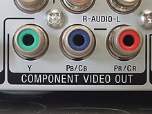 output komponen video