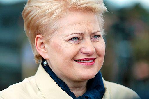 Dalia Grybauskaite 2014 by Augustas Didzgalvis