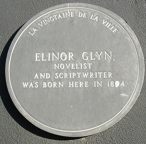 File:Elinor Glyn birthplace plaque Jersey.jpg