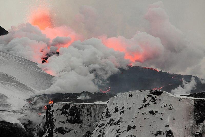 Der Vulkanausbruch, der mit seiner Aschewolke die ALBA-Fans nervt (c) Wikimedia