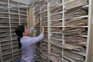 looking for  medical records