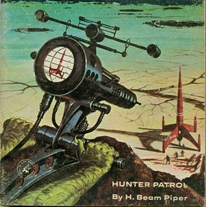 Cover of Hunter Patrol, written with John J. M...