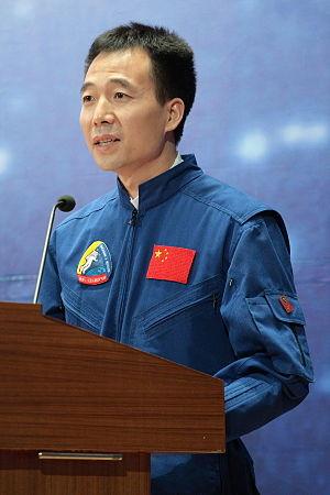 English: China astronaut Jing Haipeng. Taken a...