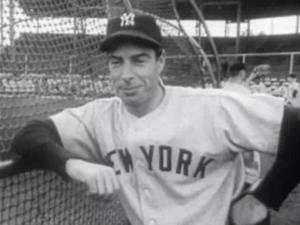 English: New York Yankees slugger during the N...