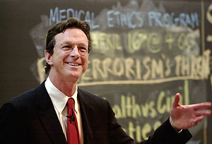 American author and speaker Michael Crichton s...