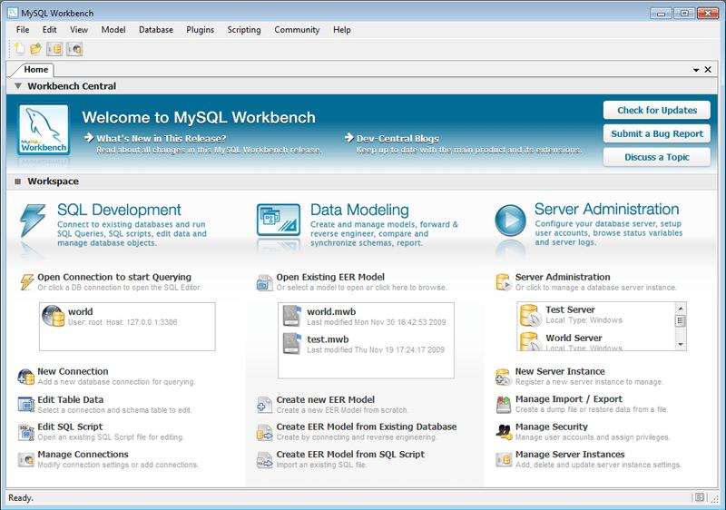 Problemas de conexion de MySQL Workbench
