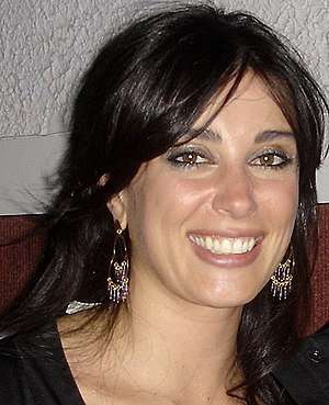 English: Photograph of Nadine Labaki after the...
