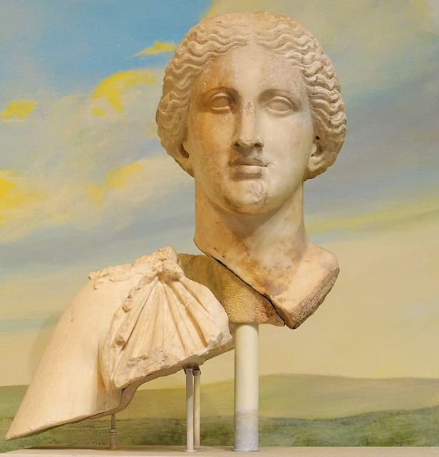 Cult Statue Head of Diana