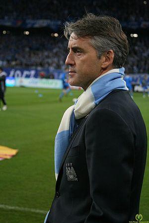 Roberto Mancini - side
