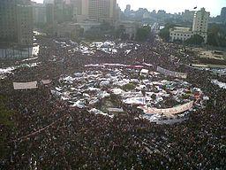 כיכר תחריר, מוקד המהפיכה במצריים