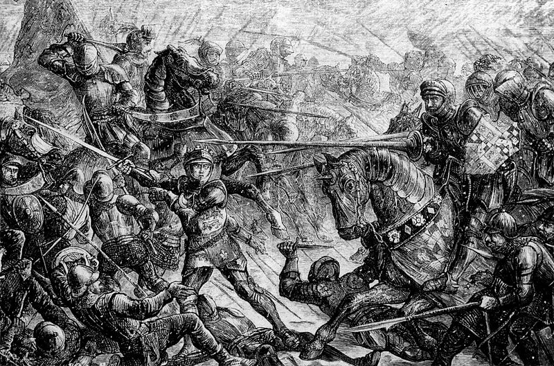 Ficheiro:The Battle of Towton by John Quartley.jpg