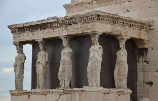 The Porch of the Caryatids, The Erechtheion, Acropolis of Athens (13889671980)
