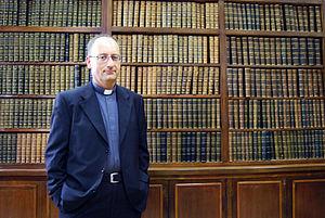 English: Photo of fr. Antonio Spadaro taken in...