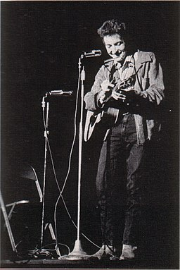 Bob Dylan in November 1963
