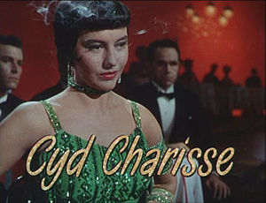 English: Portrait of Cyd Charisse from Singin'...