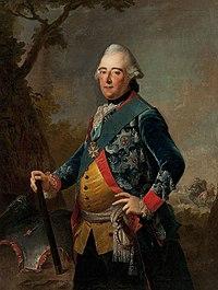 Johann Heinrich Tischbein - Retrato del Landgrave Federico II de Hesse-Kassel.jpg