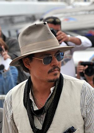 English: Johnny Depp at the Cannes film festival