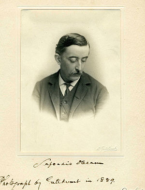 English: Lafcadio Hearn in 1889 日本語: 小泉八雲(こいず ...