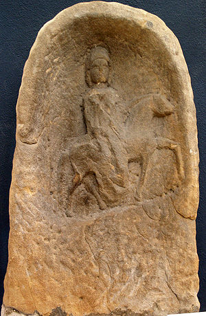 Epona, 3rd c. AD, from Freyming (Moselle), Fra...