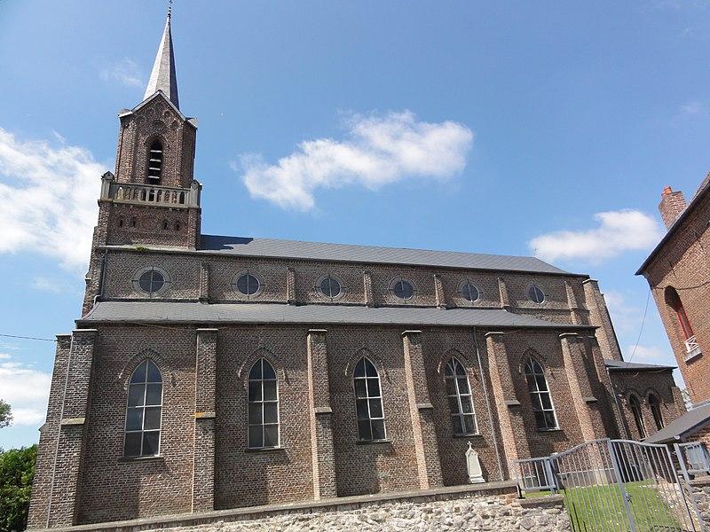 Mairieux (Nord, Fr) église, latéral